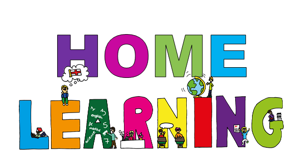 Home learning banner